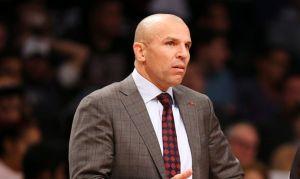 La NBA multa a Jason Kidd por tirar bebida en la duela (video)