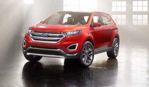 Ford nos muestra las nuevas líneas del Edge