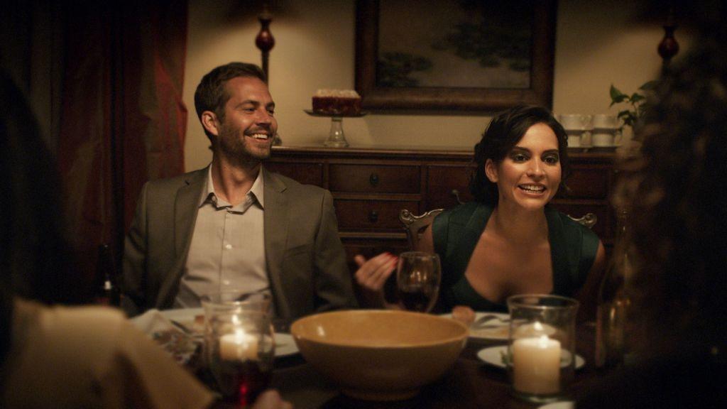 """Paul Walker trabajó junto a la hija de """"El Puma"""", Génesis Rodríguez, en su más reciente película, titulada """"Hours""""."""