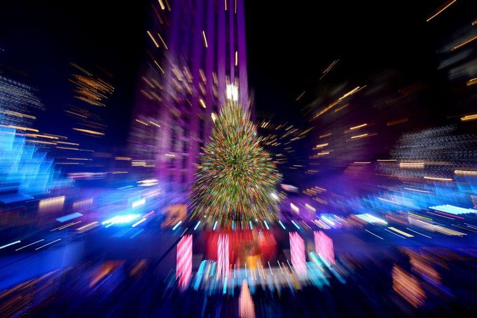 Arranca la Navidad en el Rockefeller Center de NYC