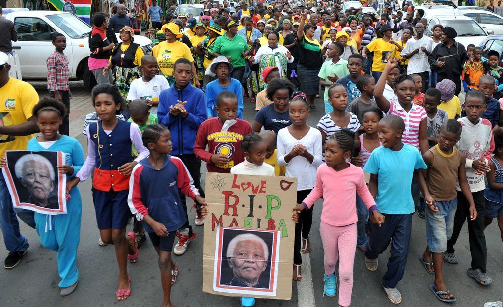 Entierro de Mandela será el día 15, donde él quería