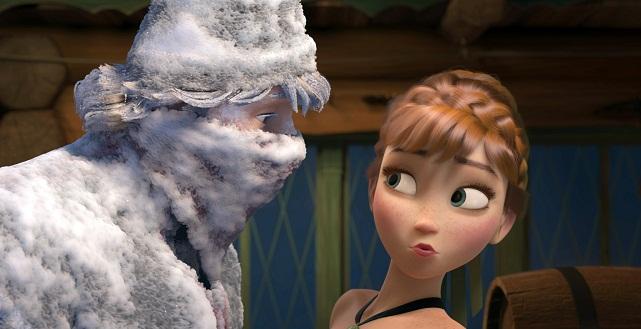 """""""Frozen"""" encabezó las recaudaciones de este de fin de semana con 31.6 millones de dólares."""