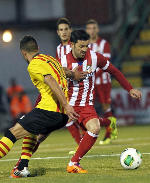 Atlético arrolla en Copa del Rey