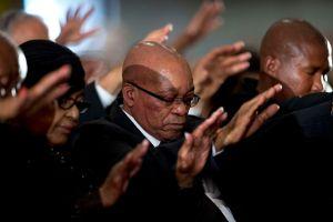 Día Nacional de Oración por Mandela en Sudáfrica