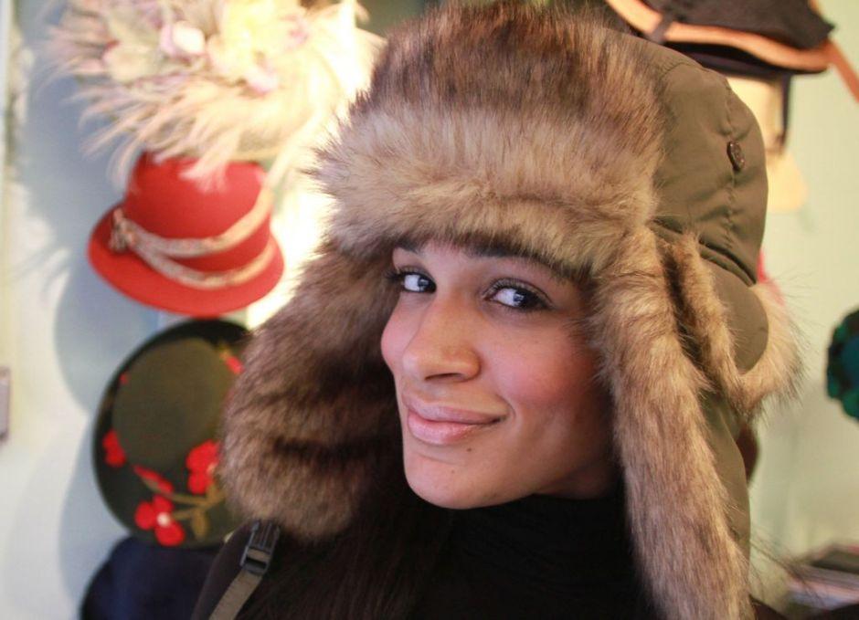 Los sombreros de moda este invierno en Nueva York (fotos)