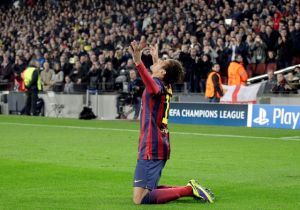 Neymar luce olfato de gol