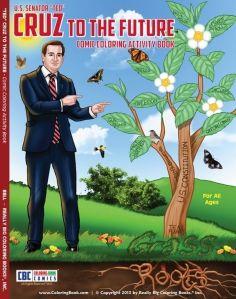 """""""Casi"""" fenómeno de ventas libro de colorear de Ted Cruz"""