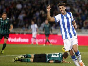 La Real Sociedad vence por goleada al Real Betis