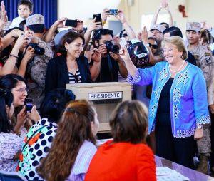 Michelle Bachelet vuelve a ganar la presidencia de Chile