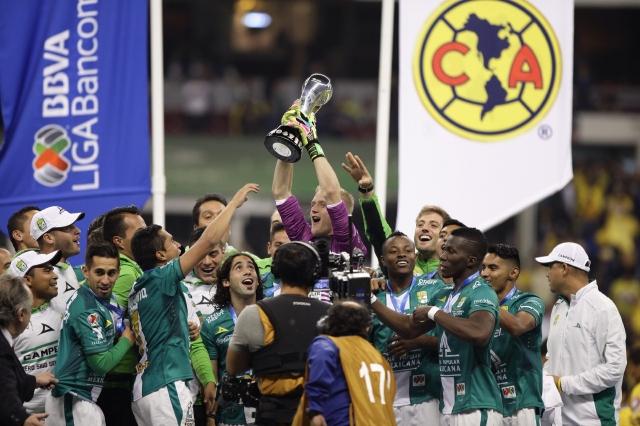 León es campeón del Apertura en México