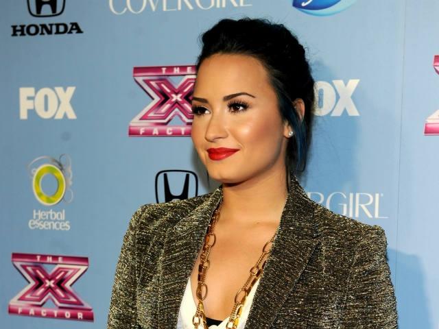 "Demi Lovato abandona el programa ""The X Factor"""