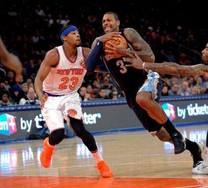 Otro mal día para Knicks