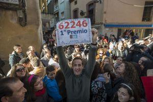 Lotería española reparte $3,000 millones