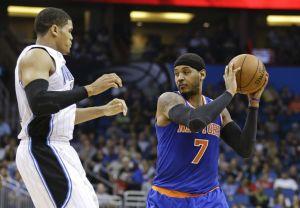 Knicks triunfan pero Anthony se lesiona