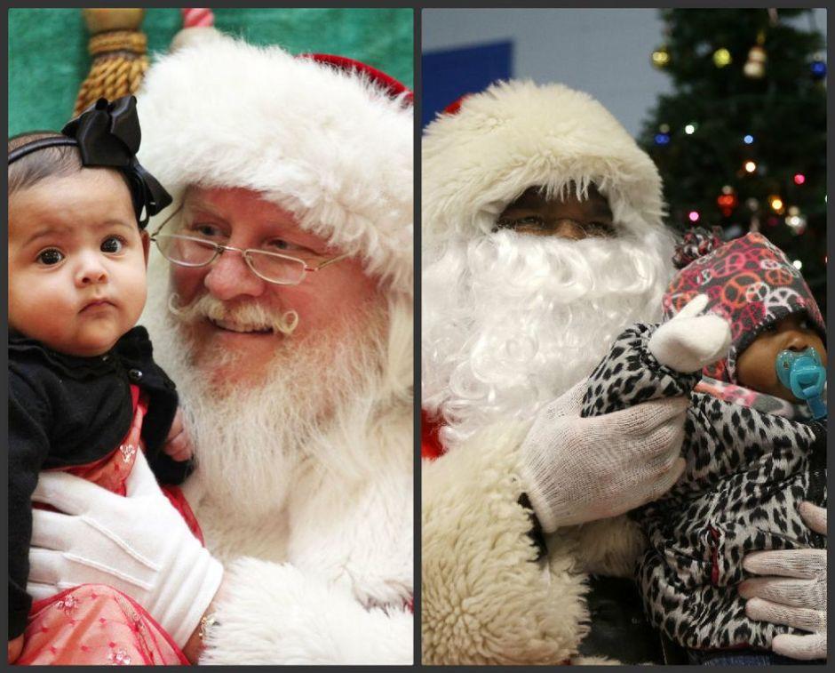 Las distintas caras de Santa Claus (fotos)