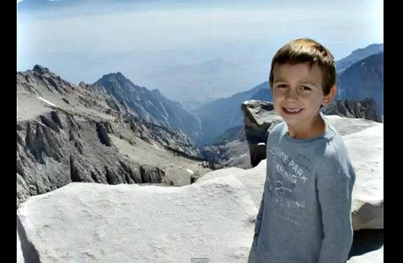 Niño de 9 años impone récord al pisar la cima del Aconcagua