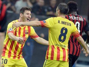 Iniesta niega campaña anti-Messi en Madrid
