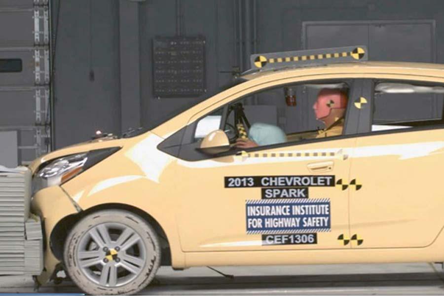 El Chevrolet Spark es un ejemplo de seguridad