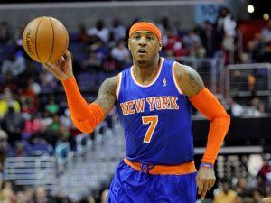 Carmelo Anthony vuelve con los Knicks tras lesión