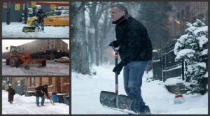 """NYC no se deja congelar por tormenta """"Hércules"""""""