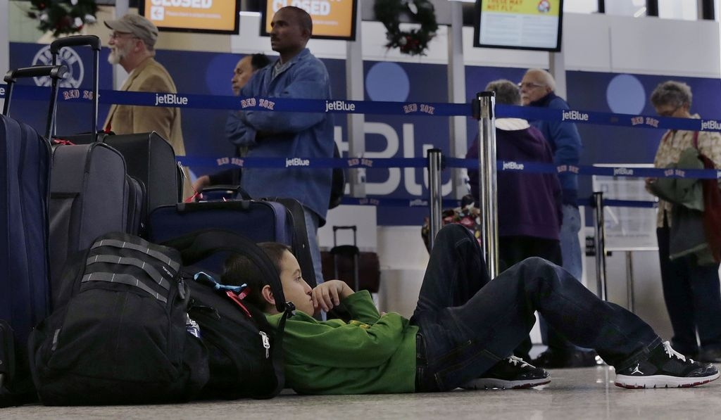 Frío polar paraliza vuelos de JetBlue y Southwest