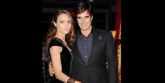 Se casará David Copperfield con mujer 29 años menor