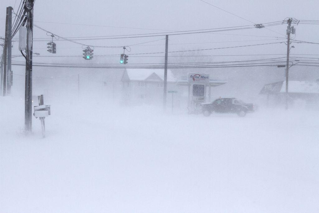 Prófugo de Kentucky se entrega debido al frío intenso