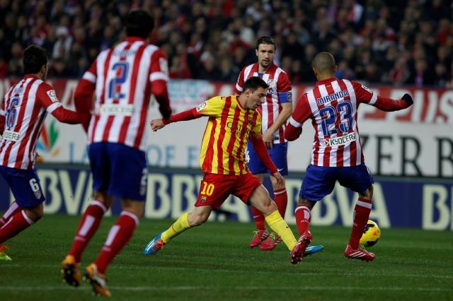 Barça y Atlético se respetan