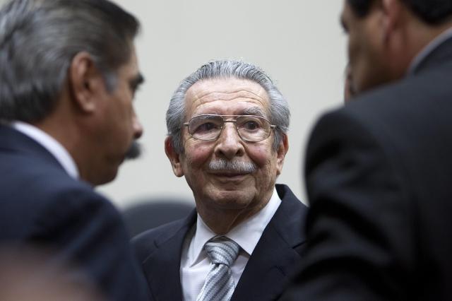 Apelan anulación del proceso a Ríos Montt