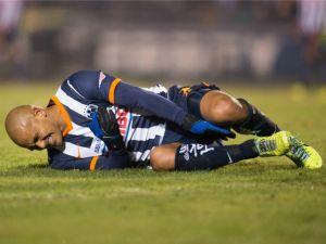 """El """"Chupete"""" Suazo se pierde el resto de la temporada"""