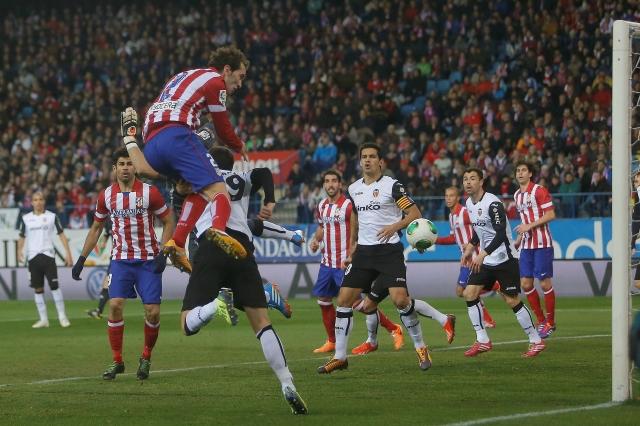 Atlético  a cuartos de final