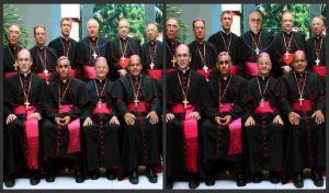 Clero dominicano altera foto de obispos para sacar pederasta