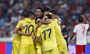 Villarreal vence al Almería y ya está en puestos de Champions