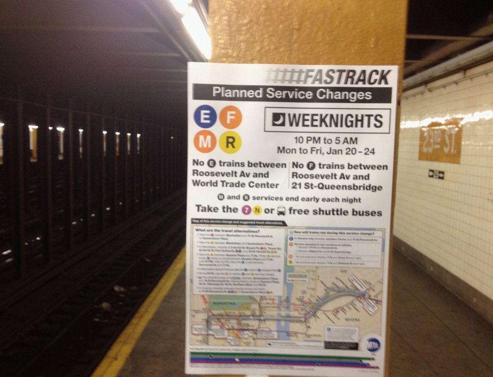 Varios trenes de NYC serán suspendidos esta semana