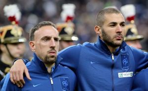 Se reanuda juicio a Franck Ribery y Karim Benzema