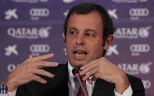 Acepta juez querella contra presidente del Barça