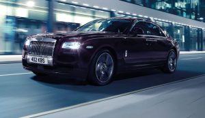 Edición especial por los cinco años del Rolls-Royce Ghost