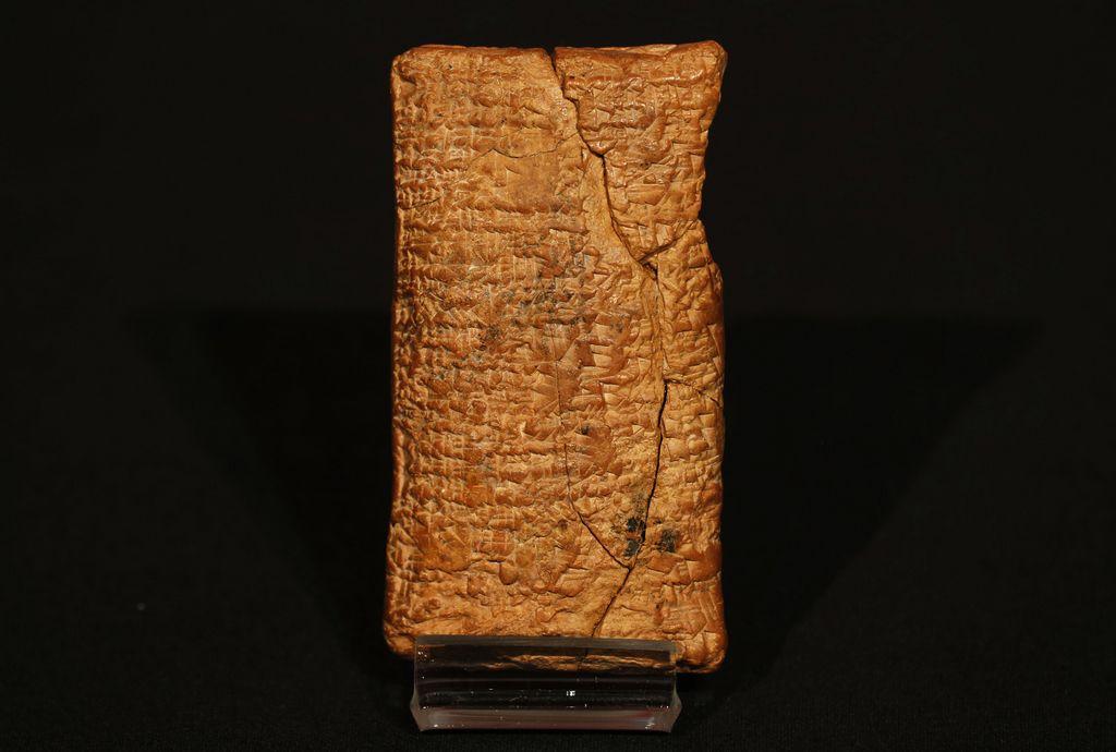 Tableta milenaria revela que Arca de Noé era redonda
