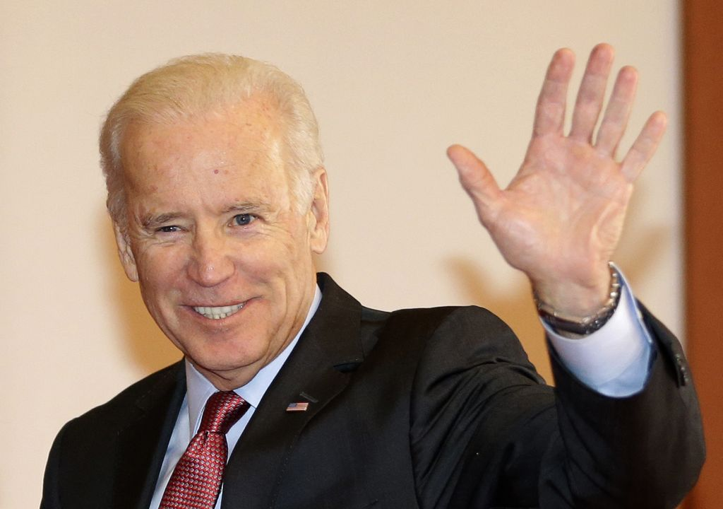 Joe Biden juega con la idea de ser presidente de EEUU