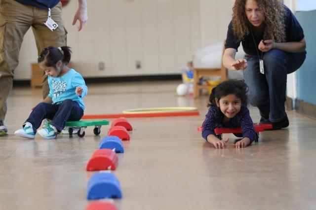 """Niños especiales en """"Olimpiadas de Invierno"""" en NYC"""