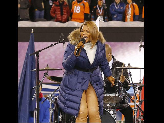 Queen Latifah 'calienta' el Super Bowl