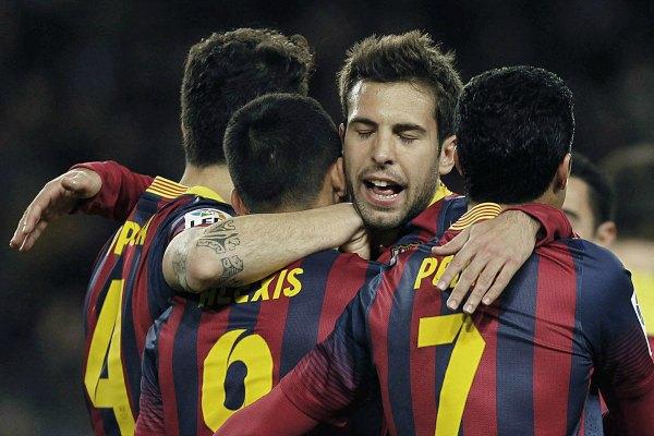 Barça aventaja 2-0 a la Real Sociedad en semifinales (Video)
