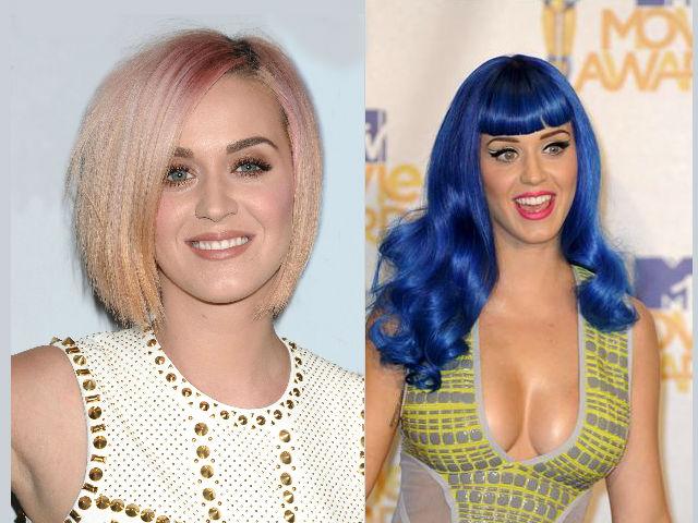 Katy Perry y sus camaleónicos cambios de look