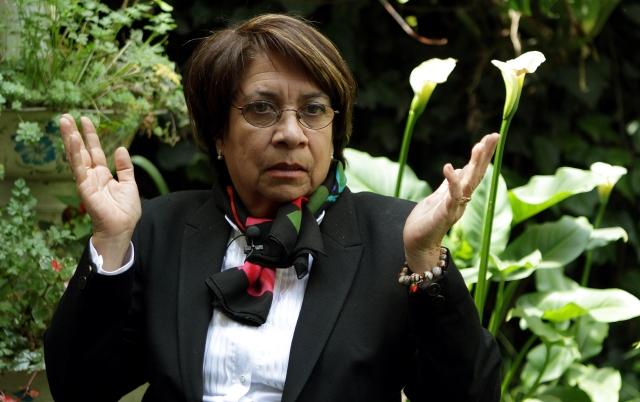 Del exilio a candidata presidencial en Colombia