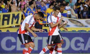 River consigue un punto en su visita a Rosario, 1-1