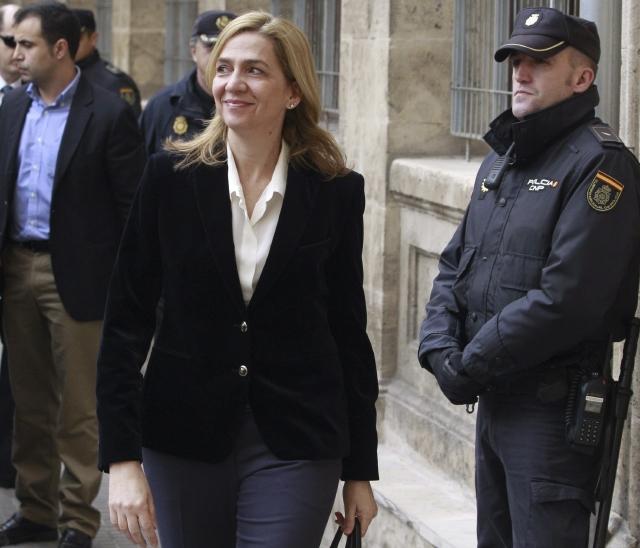 Infanta acusa a su marido en escándalo