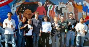 Un mural hecho de sacrificios y sueños