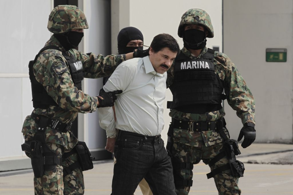 """Líderes aplauden a Peña Nieto por captura de """"El Chapo"""""""