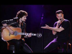 Tommy Torres y Ricky Martin hicieron explosivo dueto en Viña del Mar