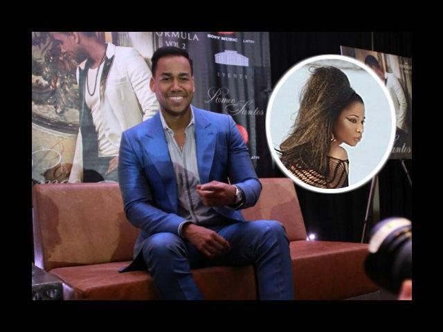 Romeo Santos pone a cantar a Nicki Minaj en español